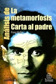 Cover of: Analisis De La Metamorfosis by Eduardo Vanegas