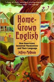 Cover of: Homegrown English