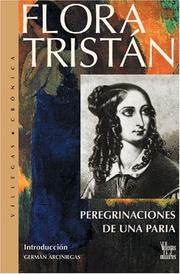 Cover of: Pereginaciones de Una Paria