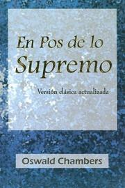 Cover of: En Pos de Lo Supremo