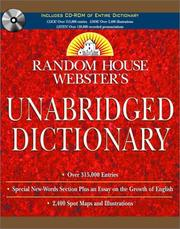 Random House Webster's Unabridged Dictionary Book & CD-ROM Set