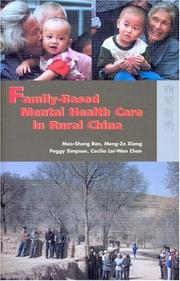 Family-based Mental Health Care In Rural China