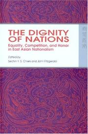 Cover of: The Dignity of Nations |