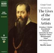 Cover of: The Lives of the Great Artists (Biography)