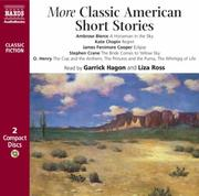Cover of: More Classic American Short Stories