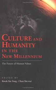 Cover of: Culture and Humanity in the New Millennium |