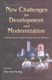 Cover of: New Challenges for Development and Modernization | Yue-Man Yeung