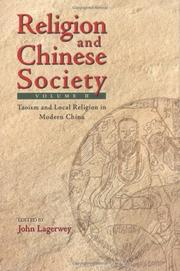 Cover of: Chinese Religion and Society (2 volumes)