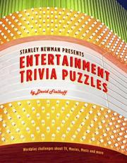 Cover of: Stanley Newman Presents Entertainment Trivia Puzzles (Stan Newman)