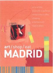 Cover of: Art Shop Eat Madrid (Art/Shop/Eat)