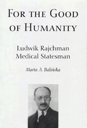 Cover of: For the good of humanity