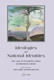 Cover of: Ideologies and National Identities |
