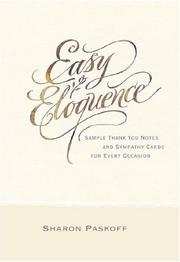 Cover of: Easy Eloquence