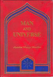 Cover of: Man and Universe