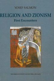 Cover of: Religion and Zionism | Yosef Salmon