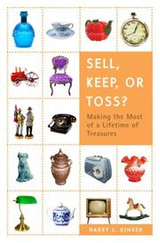 Cover of: Sell, Keep, or Toss?