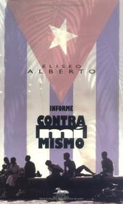 Cover of: Informe contra mí mismo