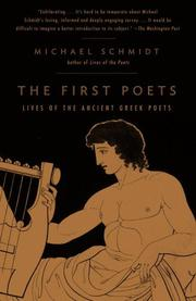 Cover of: The First Poets