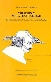 Cover of: Volición y metateatralidad