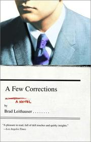 Cover of: A few corrections: a novel