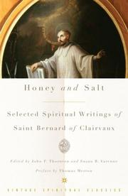 Cover of: Honey and Salt