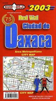 Cover of: Oaxaca City Map