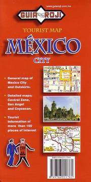 Cover of: Mexico City Tourist Map in English by Guia Roji