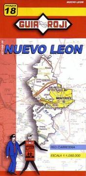 Cover of: Nuevo León State Map by Guia Roji