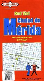 "Cover of: ""Ciudad de Mérida"" Mérida City Map"