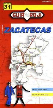 Cover of: Zacatecas State Map by Guia Roji