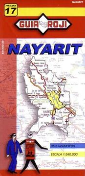 Cover of: Nayarit State Map by Guia Roji