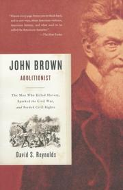 Cover of: John Brown, Abolitionist | David S. Reynolds