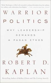 Cover of: Warrior Politics | Robert D. Kaplan