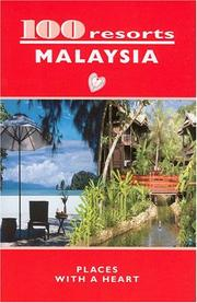 Cover of: 100 resorts MALAYSIA | Dominique Grele
