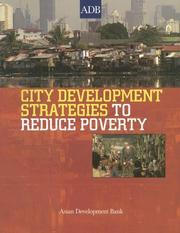 Cover of: City Development Strategies to Promote Urban Poverty Reduction
