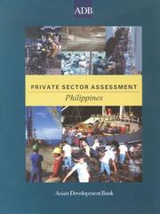 Cover of: Private Sector Assessment: Philippines