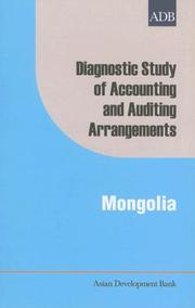 Cover of: Diagnostic Study of Accounting and Auditing Arrangements