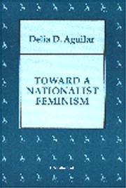Cover of: Toward a nationalist feminism