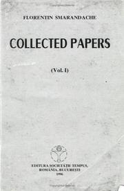 Cover of: Collected papers: articles, notes, generalizations, paradoxes, miscellaneous in mathematics, linguistics, and education