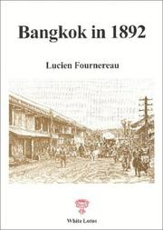 Cover of: Bangkok in 1892 | Lucien Fournereau