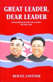 Cover of: Great Leader, Dear Leader