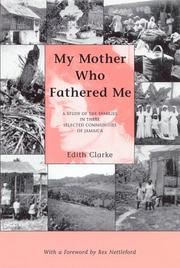 My mother who fathered me by Edith Clarke