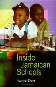 Cover of: Inside Jamaican Schools | Hyacinth L. Evans