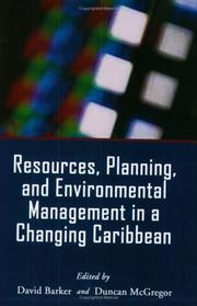 Resources, Planning, and Environmental Management in a Changing Caribbean by