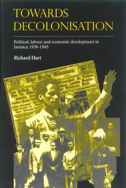 Cover of: Towards Decolonisation | Richard Hart
