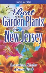 Cover of: Best Garden Plants for New Jersey (Best Garden Plants For...) | Lorraine Kiefer