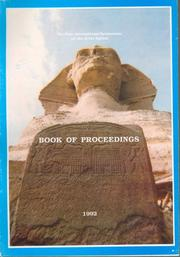Cover of: Book of Proceedings on the Sphinx | Supreme Council of Antiquities