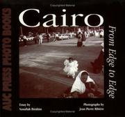 Cover of: Cairo, from edge to edge