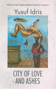"Cover of: City of love and ashes | YuМ""suf IdriМ""s"