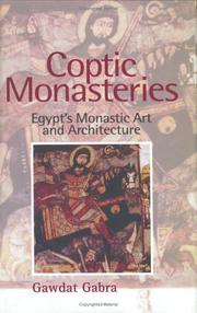 Cover of: Coptic Monasteries | Gawdat Gabra